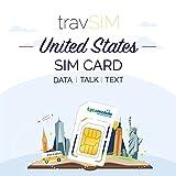 travSIM USA SIM Card (Lycamobile SIM Card) Valid for 30...