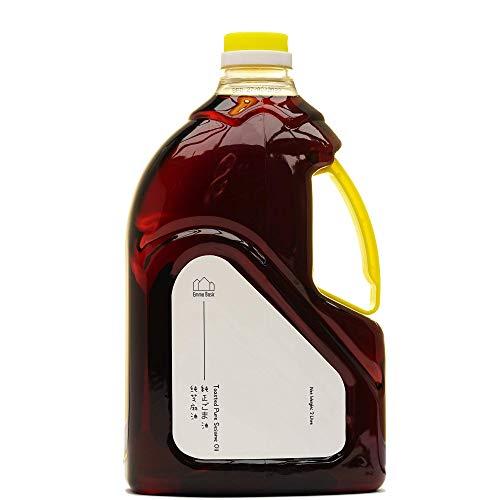 Emma Basic geröstetes Sesamöl | 2L |100% reines geröstetes Sesamöl |Gesund & Schmeckt |Asiatische, Japanische & Chinesische Küche |Vielseitige Verwendungsmöglichkeiten