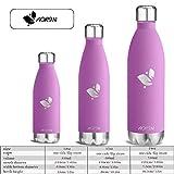 Aorin 500ml Trinkflasche (Lila) - 3