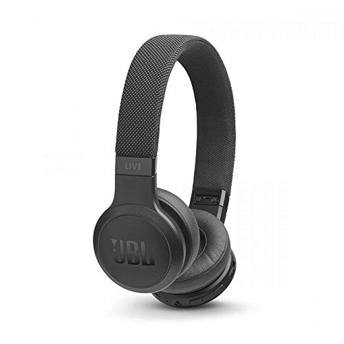 JBL Live 400BT Cuffie On-Ear Wireless Bluetooth con Alexa Integrata e Assistente Google, fino a 24 h di Autonomia, Nero