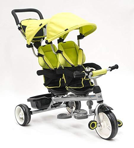 Triciclo Gemelar alta calidad color ROJO
