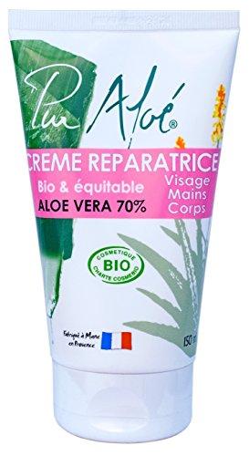 Pur'Aloé Crème Réparatrice Cosmébio/Operaequa 150 ml - Lot de 2