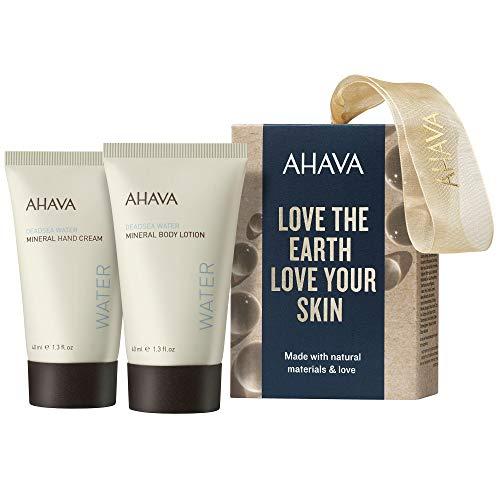 AHAVA Naturally Beautiful Hand & Body Geschenkset (Handcreme,40ml+Bodylotion,40ml)