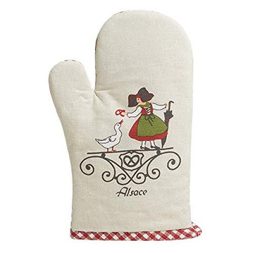Winkler - Gant de cuisine - Gant de four - Gant plats chauds - Gant résistance chaleur - Intérieur doux - Accessoire cuisine - Wapp