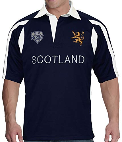 FULL TIME SPORTS Mens Scotland Rugby Shirt - Medium