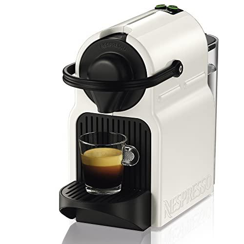 Krups Inissia blanche Machine à café Nespresso, Cafetière expresso à dosettes, Compacte Automatique, Pression 19 bars XN100110