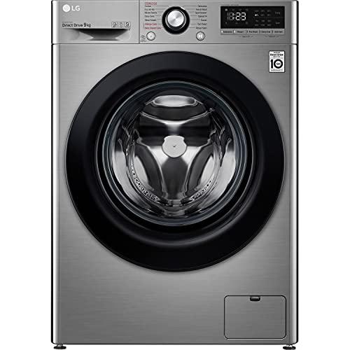LG F4V309SSE 9kg 1400rpm Freestanding Washing Machine - Graphite