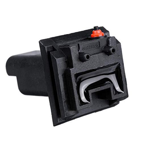 FKERYE Interruptor de Control de Apertura de la Puerta Trasera del Coche con la Bombilla for for Peugeot 206 207 306 307 308 407 5008 Pareja for Citroen C4# 6554.ZZ 6554zz