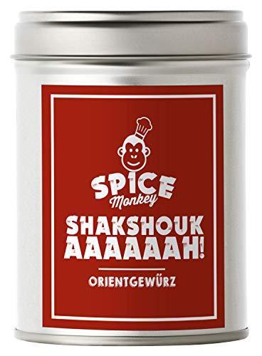 Shakshouka, Shakshuka. Köstlicher Klassiker der Jerusalem Küche, Gewürzzubereitung 100 g