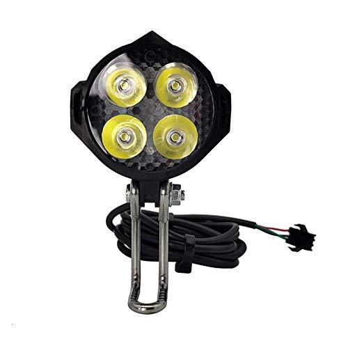 Tuimiyisou Bicicleta de luz LED de la Bici eléctrica de Ciclo Cuerno...