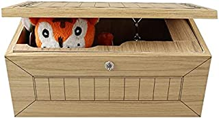 Beauenty Wooden Useless Box or Pointless Machine Leave Me Alone Box Don't Touch Tiger Box Gift with Sound for Stress-Relea...