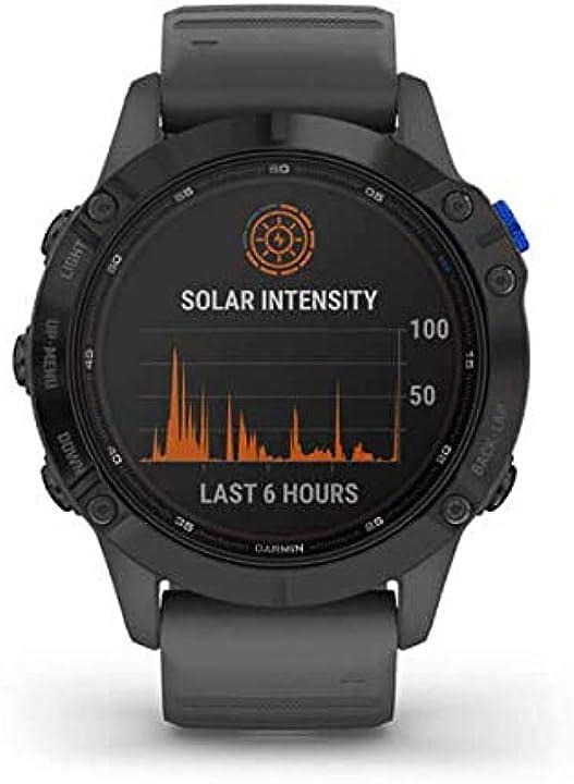 Smartwatch con ricarica solare garmin fenix 6 pro solar B08CVSFSG3