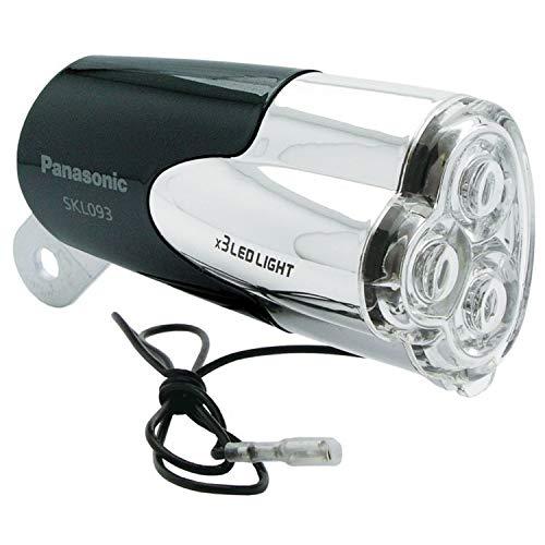 パナソニック(Panasonic) 3LEDハブダイナモ専用ライト SKL093/前照灯自転車