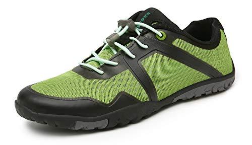 SAGUARO Zapatos Descalzo Hombre Mujer Calzado de Trail Running Antideslizante Zapatillas Deportes Ligero para Correr Fitness Gimnasio Asfalto Senderismo Caminar, 069 Verde, 41 EU