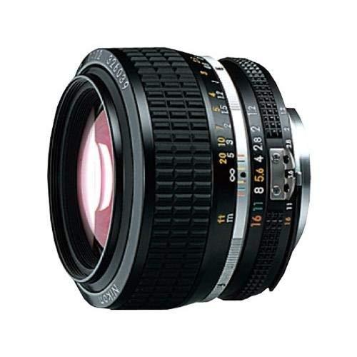 Nikon Nikkor 50mm JAA003AB - Objetivo para Nikon (Distancia Focal Fija 50mm, Apertura f/1.2, diámetro: 69mm), Color Negro
