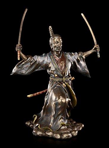 Unbekannt Samurai Figur - Bujutsu mit Zwei Schwertern - Veronese