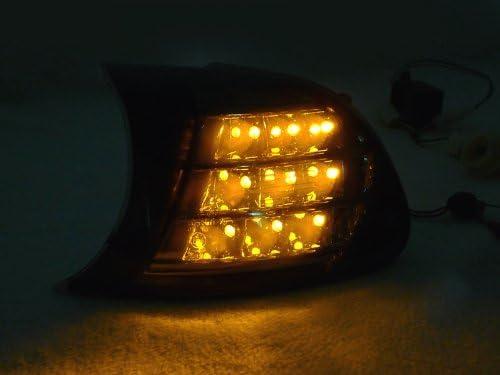 REVi MotorWerks Clip On Amber shop LED Lights Signal by Clearance SALE Limited time Smoke Corner