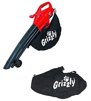 Foto di Grizzly Elettrico Combinato Aspiratore/soffiatore ELS 2614 2 e Include 1 Sacco di Raccolta + Un Extra Sacco di Raccolta