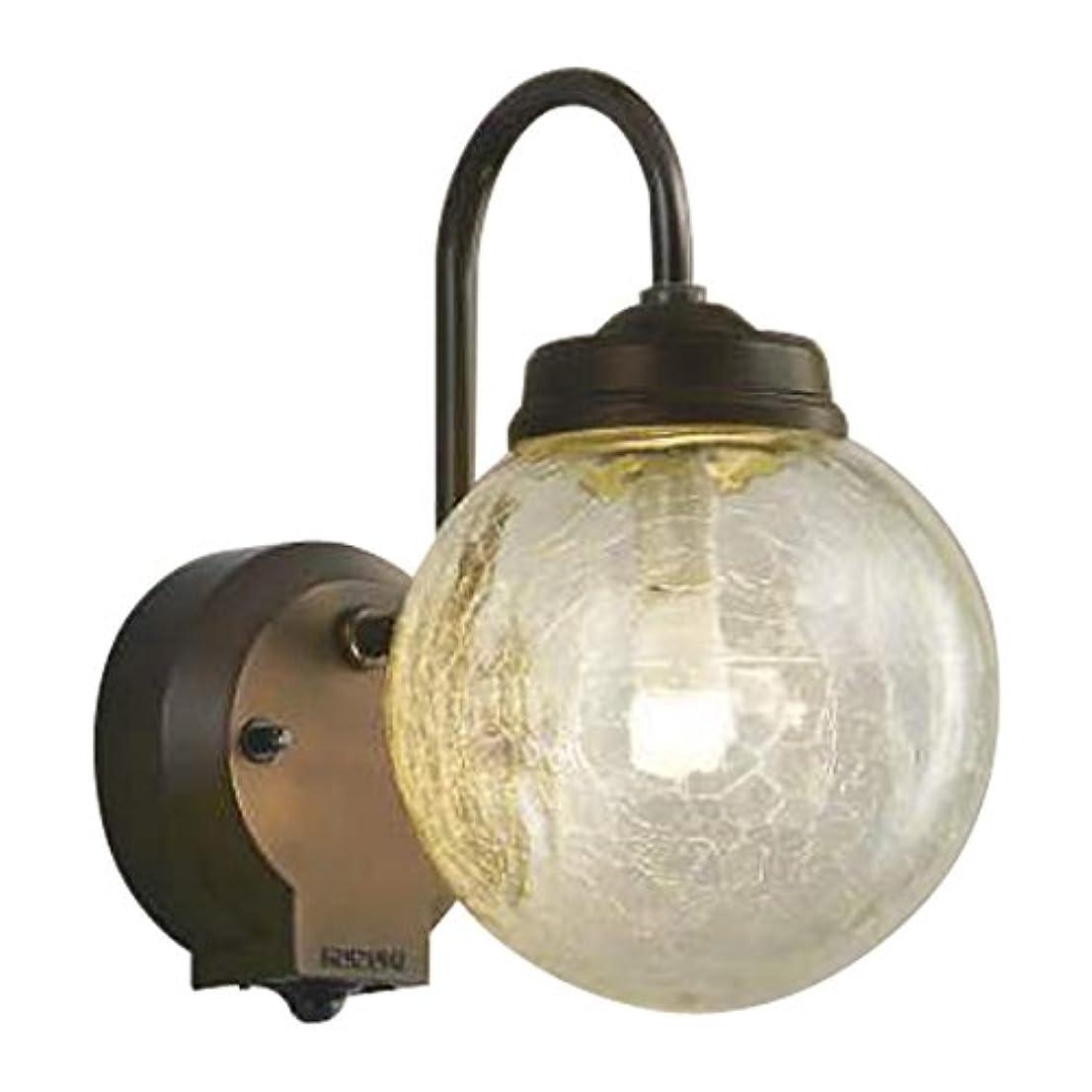 病単にコロニーコイズミ照明 LED防雨型ブラケットタイマー付ON-OFFタイプ(白熱球60W相当)電球色 AU40253L