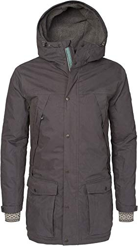 Varg Åre Parka Jacket Herren Asphalt Grey Größe S 2019 Funktionsjacke