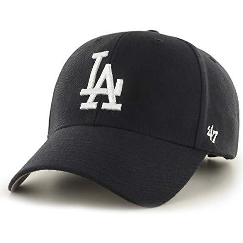 47 La Dodgers, Black Kappe, Unisex, Schwarz Einzigartige Größe