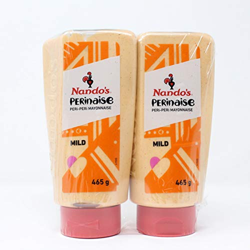 Nando's perinaise Mild (Peri-Peri Mayonaise) Grote Twin Pack 2x465g