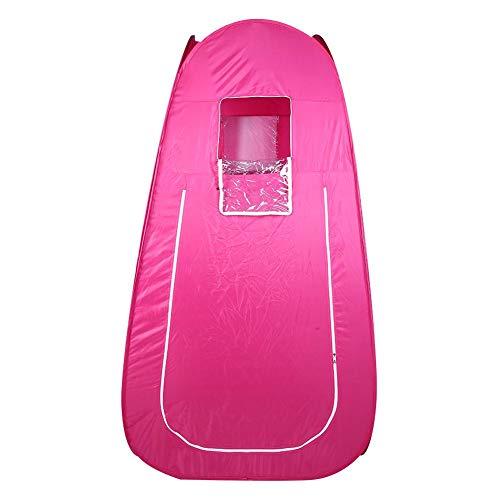 Zouminyy Saunazelt, transparentes Fenster Umkleidekabine automatisch anziehen, Home for Change Kleidung Outdoor-Umkleidekabine