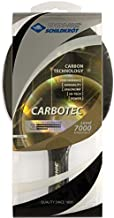 Donic Carbotec 7000 Table Tennis Racket Made with Approved Rubber for Tournament Play