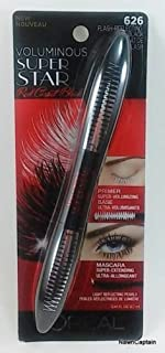 Lor Volms Superstr Red Ca Size .41 O L'Oreal Voluminuous Superstar Red Carpet 626 Flash Reflecting Mascara .41oz
