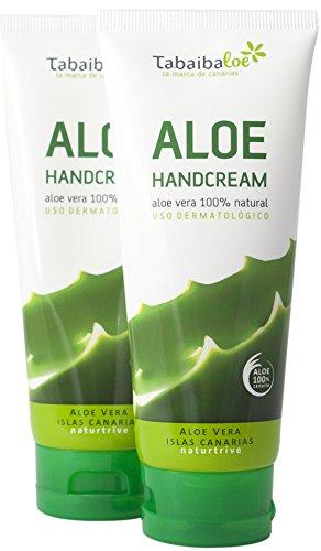 Handcreme Aloe Vera 100 ml Pack 2x1 Tabaibaloe