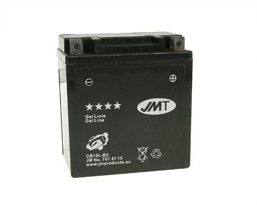 Batterie JMT GEL Line jmb10l-b2Für Piaggio X8125AC (2004)