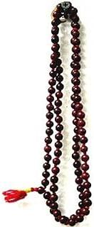 Red Sandalwood 108 Beads Religious Rosary (Japa Mala)