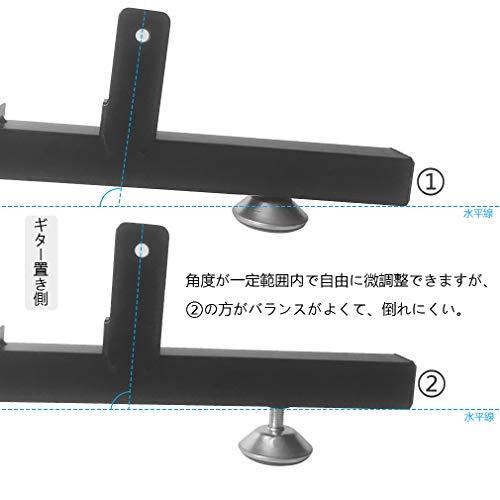 Cificギター・ベース用スタンド省スペース組み立て(5本収納)
