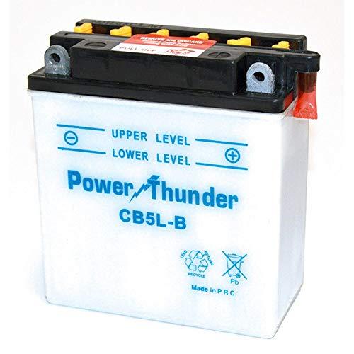 Power Thunder - Batería CB5L-B con ácido [0605541P]