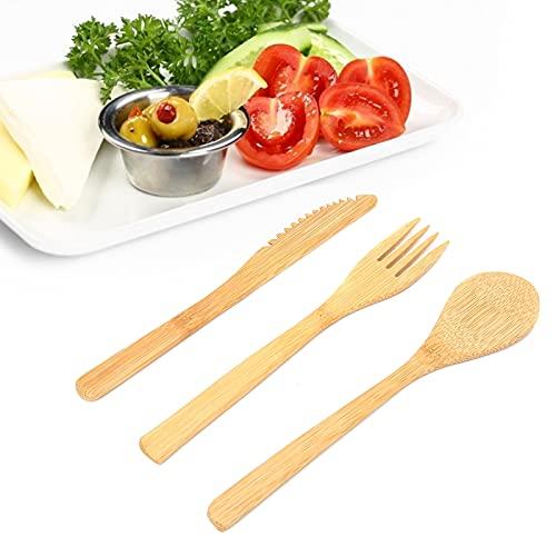 Gaeirt Couteau, Fourchette Anti-Rayures Robuste pour la Cuisine à Domicile