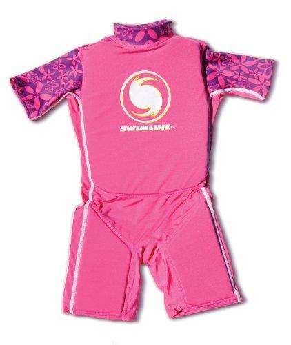 Swimline Lycra Floating Swim Trainer Suit, Girls