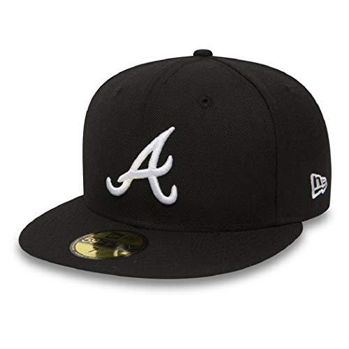 New Era Atlanta Braves MLB Basic Cap Black/White - 8-64cm