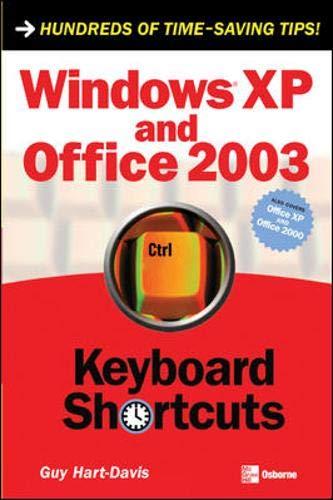 WINDOWS XP&OFFICE 2003 KEYBOARD SHORCUTS (Keyboard Shortcuts)