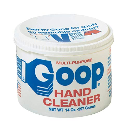 Goop Hand Cleaner and Laundry Stain Lifter Remover 14 ounce, Waterless, Non-Toxic and Biodegradable, Removes Grease, Grass, Tar, Blood, Paint, Dirt, Mud