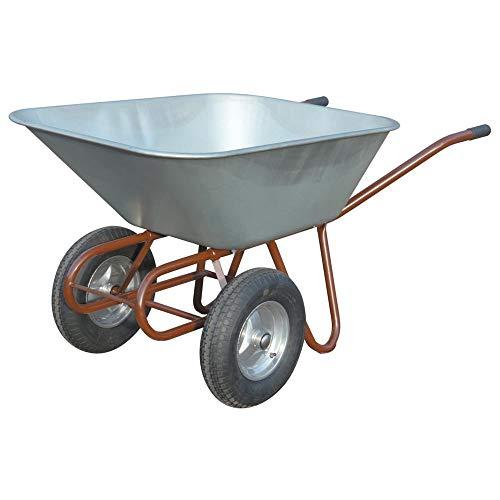 Format 4031549725709–Zweirad Schubkarre 150L mit 2luftrñdern