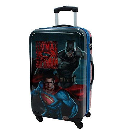 Warner Superman-Batman Maleta, 53 litros, Color Gris
