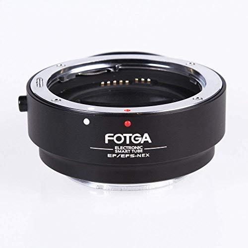 Fotga AF auto focus elettronico Lens anello adattatore per Canon EOS EF EF-S a Sony NEX e A7A7R A9A6300A6500Full Frame