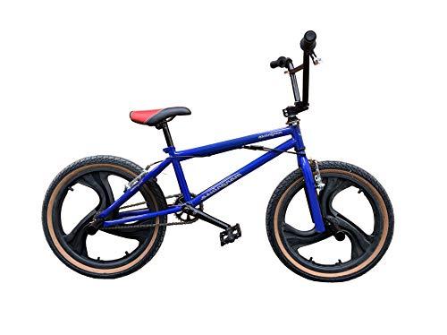 Bicicleta BMX Mongniuse - 3 colores - 20' tamaño de rueda (azul)