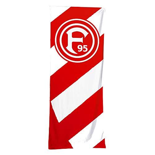 Fortuna Düsseldorf Hissflagge Streifen 300x120cm