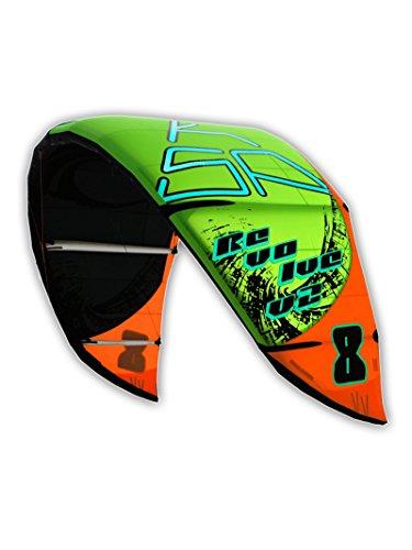 KSP KITE REVOLVE V2 2014 6-8- 10-12-14 M AILE NOUVELLE Y COMPRIS DE POMPE + SAC SURF POUR KITESURF 6m