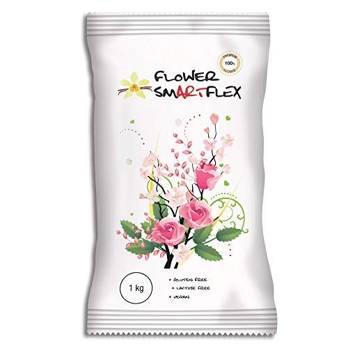 Smartflex Flower Vanilla 1kg - Modeliert Fondant