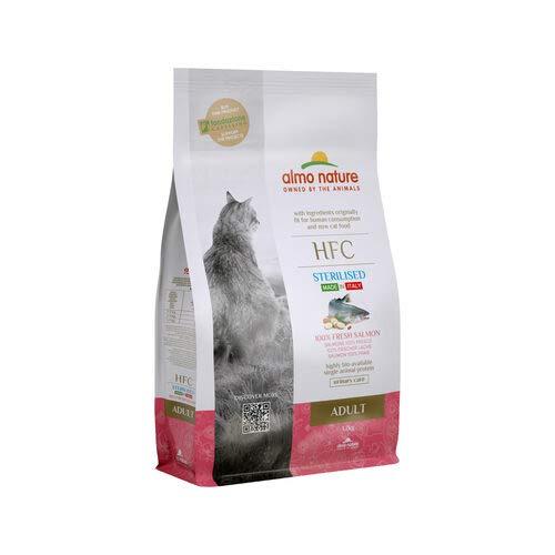 almo nature HFC Adult Sterilised Cat Food – Salmon - 1,2 kg