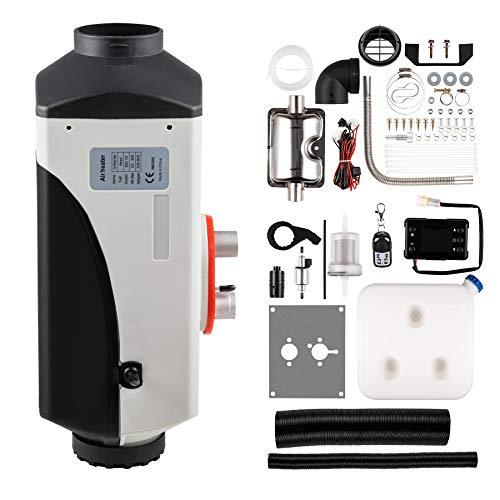 Orion Motor Tech 12V Diesel Standheizung Luftheizung Air Diesel 5Kw Diesel Lufterhitzer mit Systemsteuerung und Fernbedienung für Wohnmobil Auto