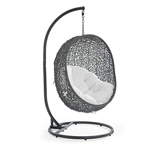 Modway Wicker Rattan Patio Egg Chair
