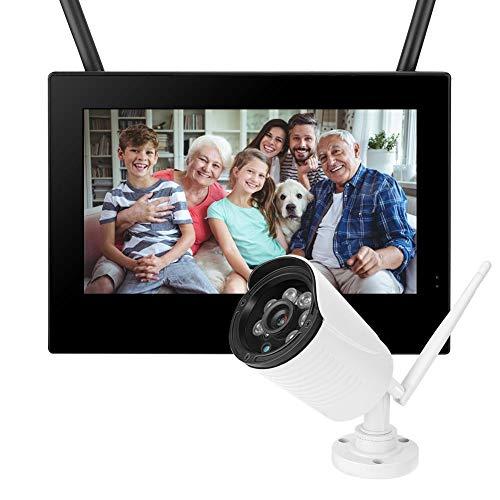 HD Baby Monitor 10in Cámara de Seguridad Inteligente 3MP para(American Standard (110-240V))